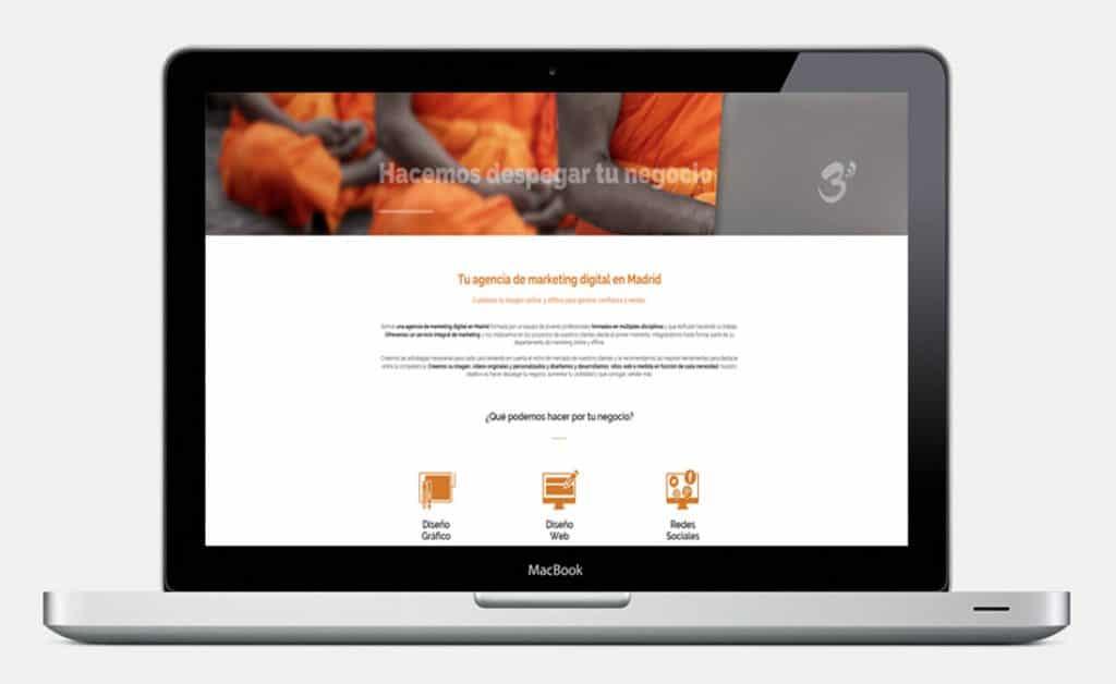 Tipos de páginas web para tu negocio - Web corporativa para presentar tu empresa y sus servicios