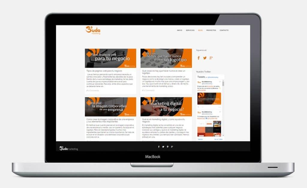Tipos de páginas web para tu negocio - Blog para mostrar tus hobbies