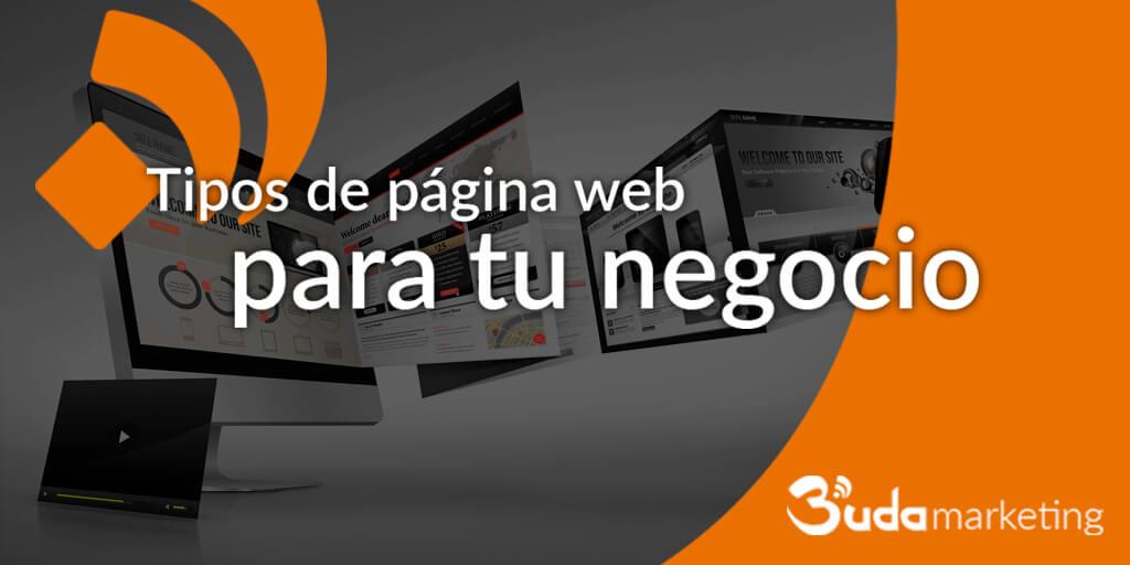 tipos de pagina web