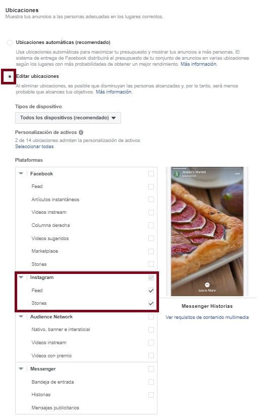 como hacer un anuncio en instagram