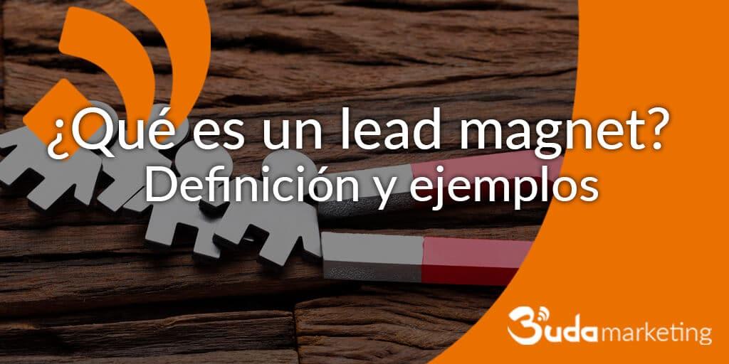 Ejemplos de lead magnet