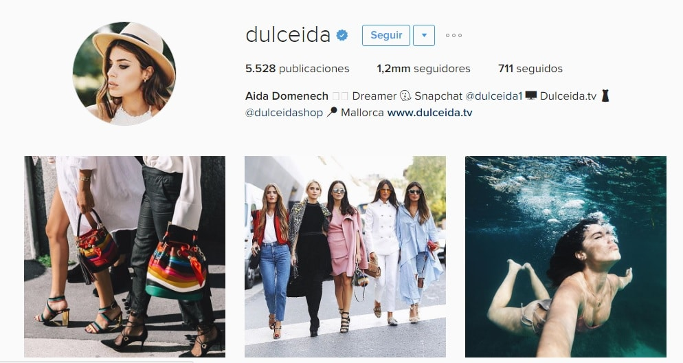 dulceida marketing de influencers
