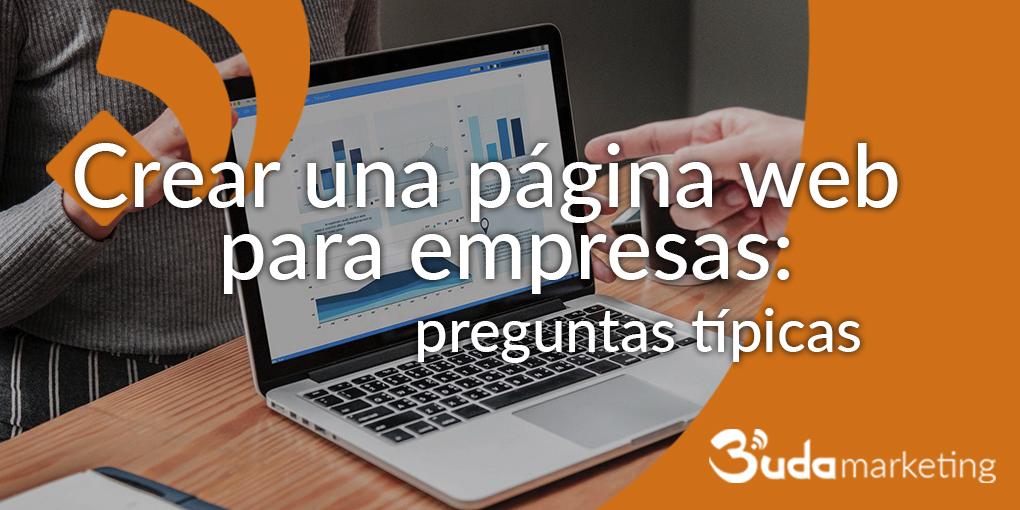 crear una página web para empresa