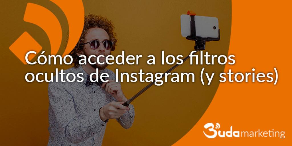 Cómo acceder a los filtros ocultos de Instagram (y stories)