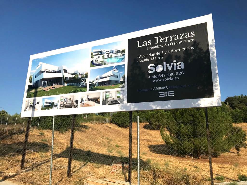 cartel valla inmobiliaria