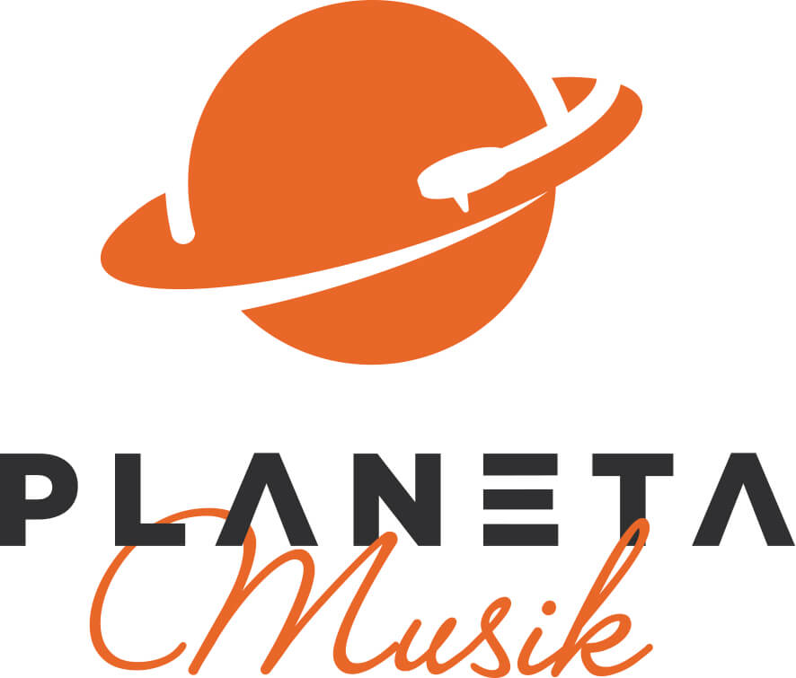 diseño logo web musica