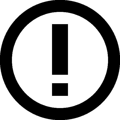 simbolo exclamacion
