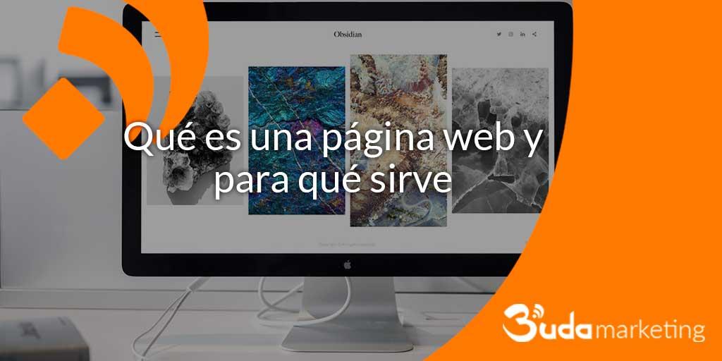 para qué sirve una página web