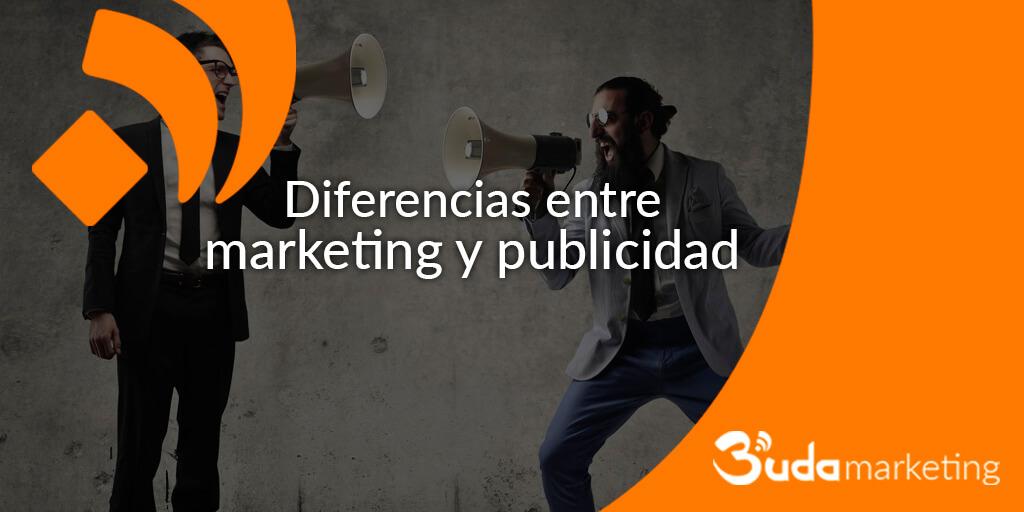 ¿Conoces la diferencia entre Marketing y la Publicidad?